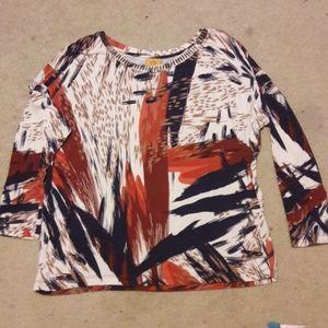 Ruby rd long sleeve shirt